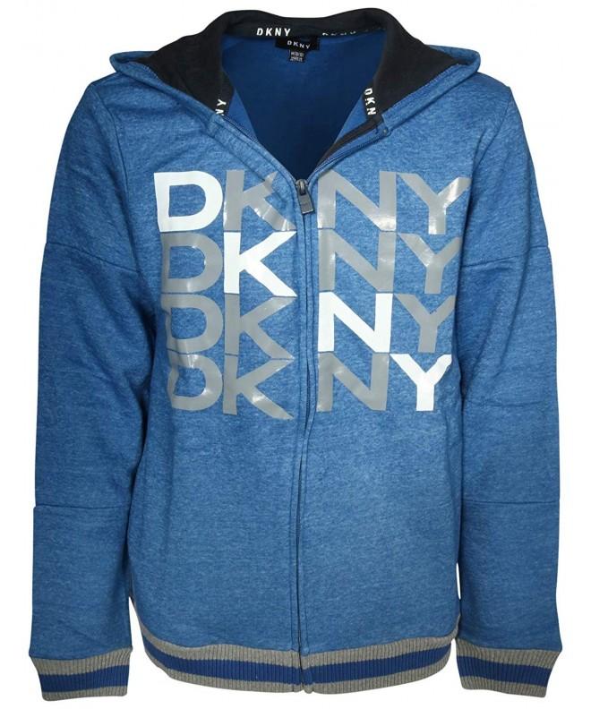 DKNY Boys Fleece Hoodie Sweatshirt