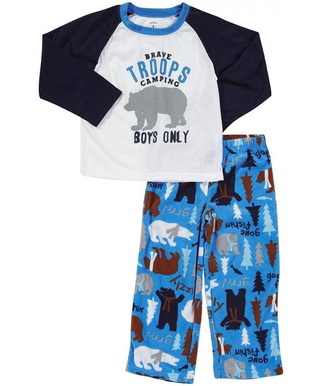 Carters Boys 2 Pc Halloween Pajama