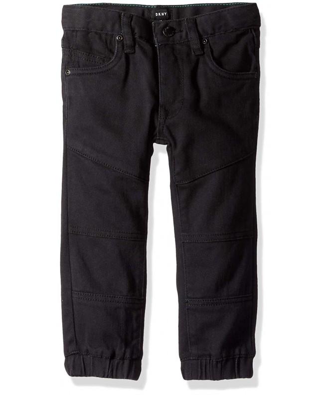 DKNY Boys Twill Moto Pant