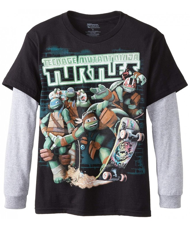 Teenage Turtles T Shirt Heather X Large