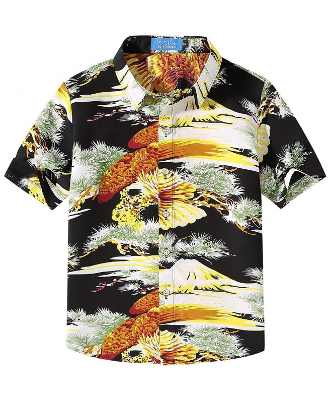 SSLR Prints Sleeve Button Hawaiian