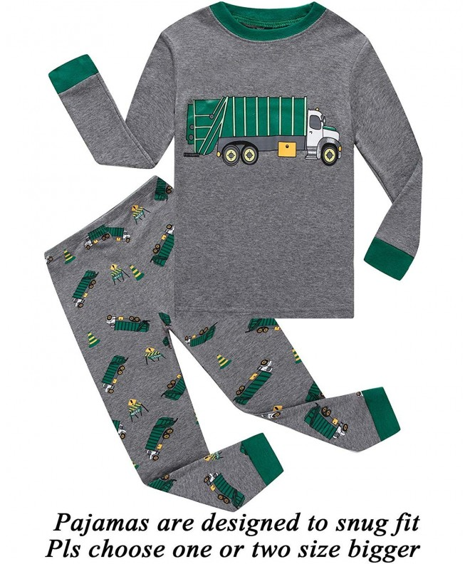 Pajamas Toddler Dinosaur Little Sleepwear