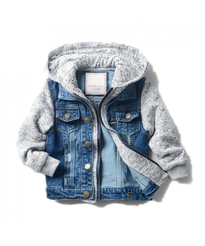 LJYH Jacket Trucker Stylish Fashion
