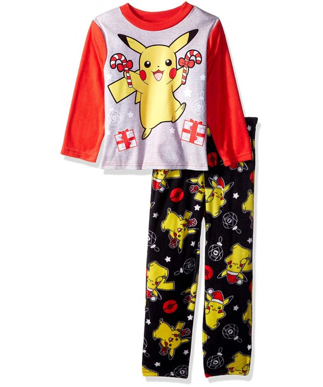 Pokemon Pikachu Holiday 2 Piece Fleece