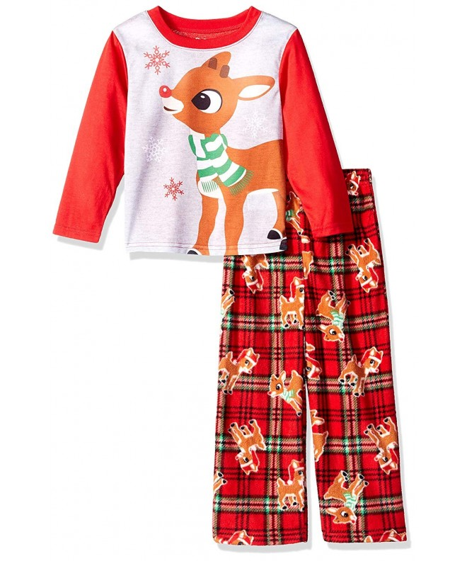 Rudolph Red Nosed Reindeer 2 Piece Fleece