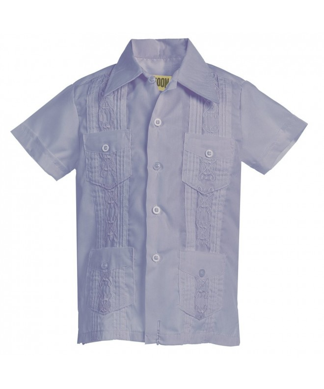 Platoon Guayabera Short Sleeve Wedding