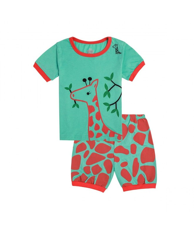 Qtake Fashion Pajamas Children Sleepwear