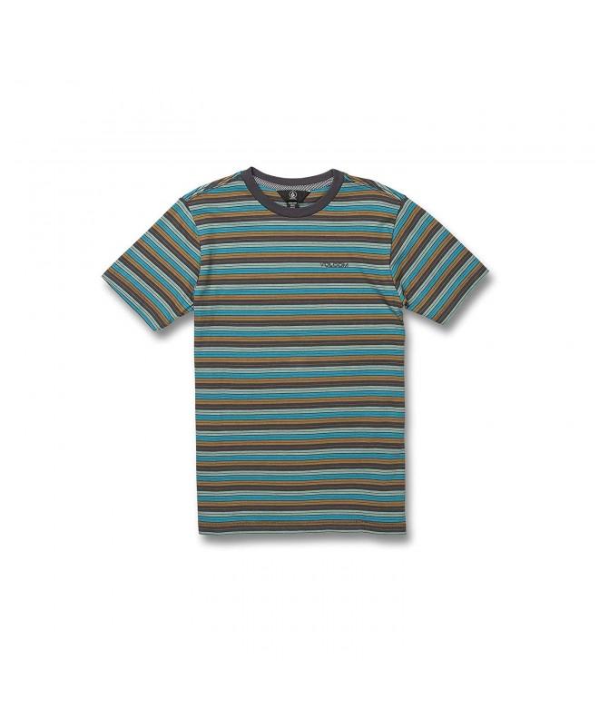 Volcom Baywood Striped Short Sleeve