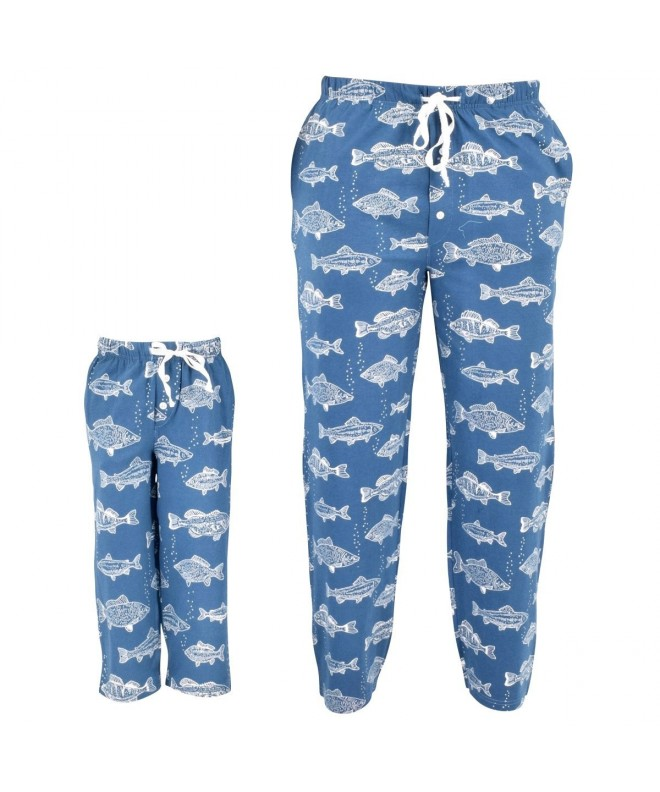Fisherman Matching Family Fathers Pajama