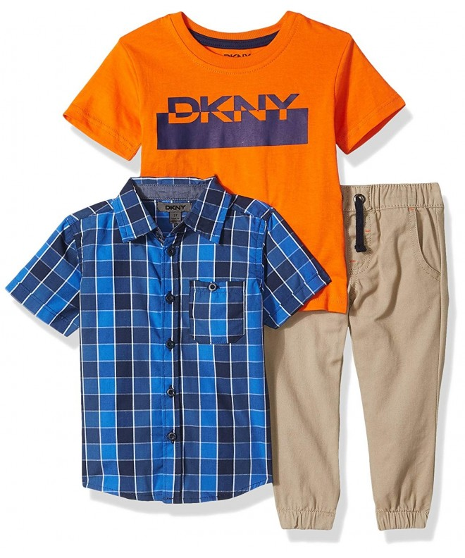 DKNY Boys Sport Knit Shirt