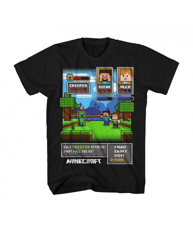 Minecraft Creeper Attack Short Sleeve