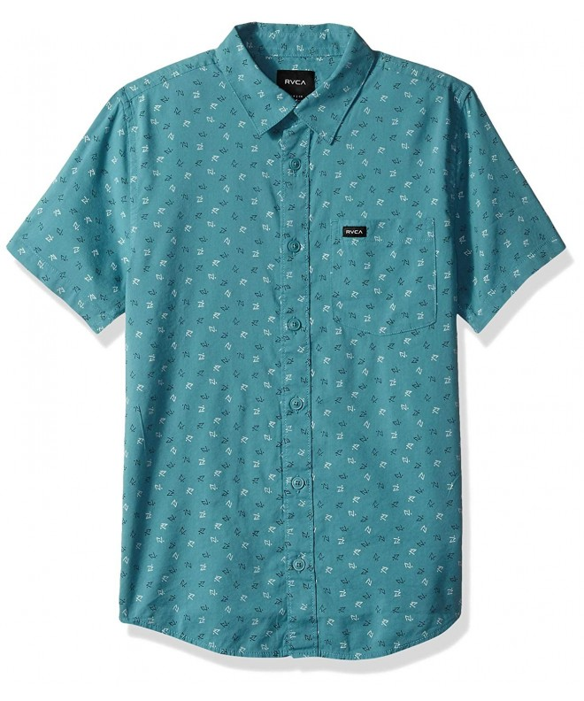 RVCA Short Sleeve Woven Button