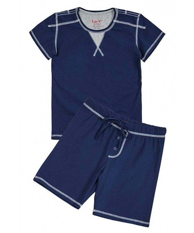 Pajama Sets Boys Stars Short