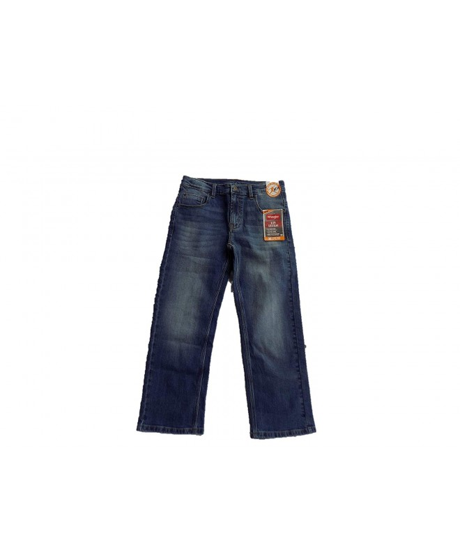 Wrangler Boys Pocket Straight Jeans