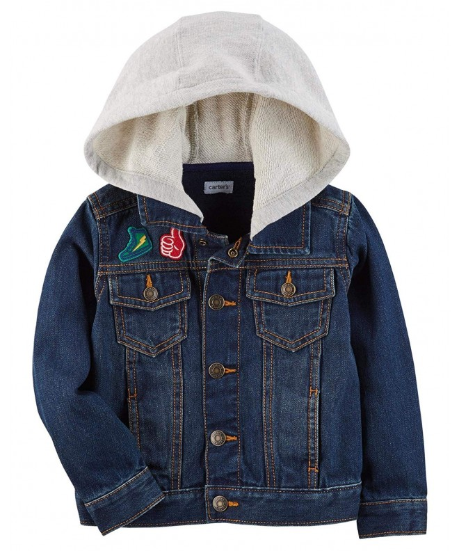 Carters Boys Hooded Denim Jacket