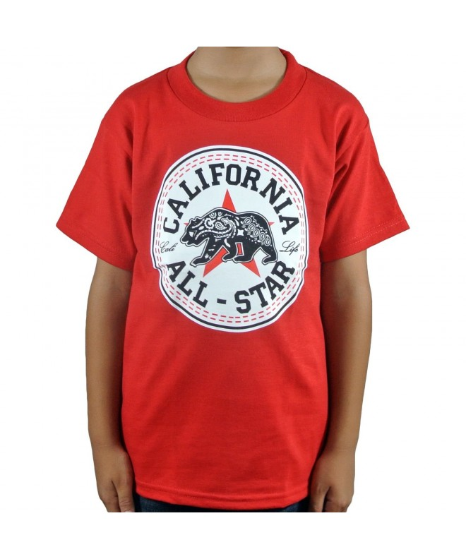 ShirtBANC California Star Bandana Bear