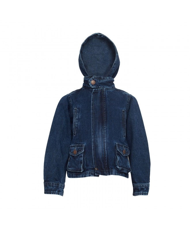 Tales Stories Denim Hooded Jacket