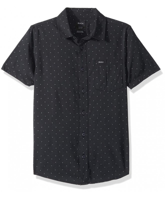RVCA Legacy Short Sleeve Button