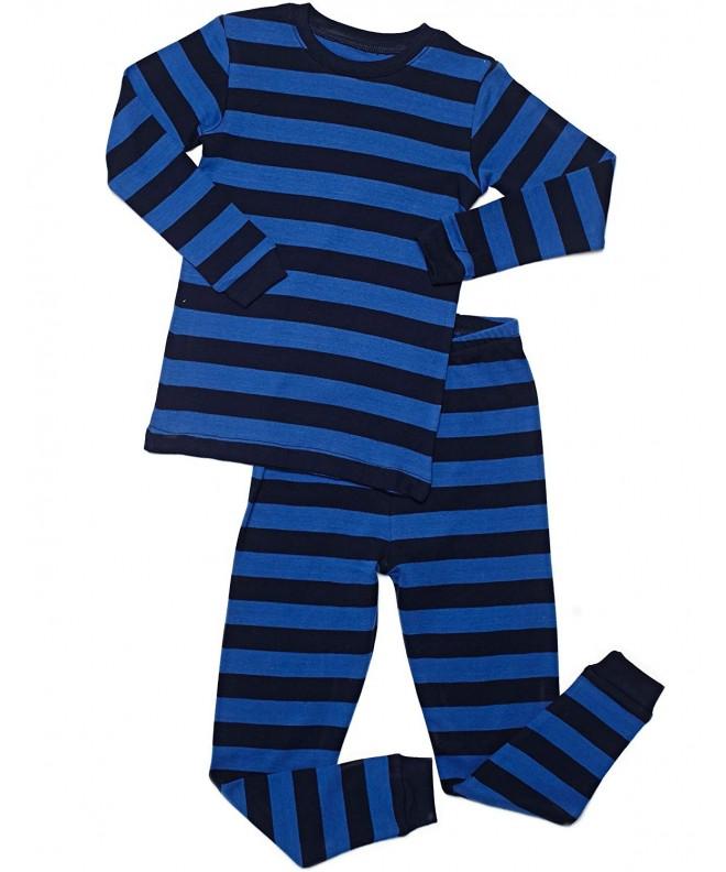 Leveret Striped Toddler Sleepwear Toddler 14
