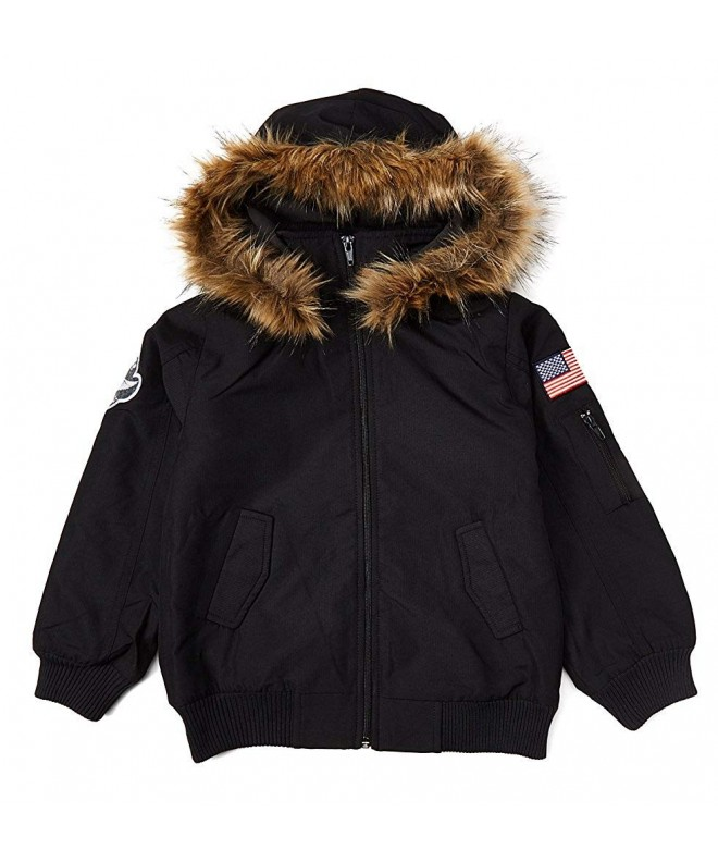 iGirldress Toddler Hooded Jacket Winter