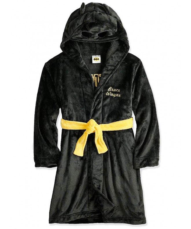Batman Hooded Fleece Bathrobe Little