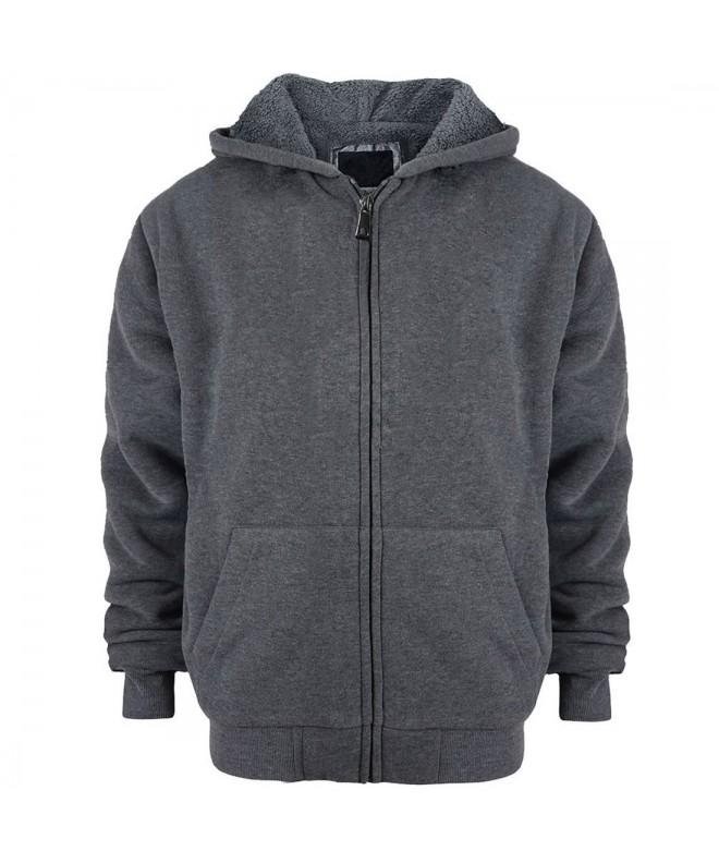 Sherpa Hoodie Fleece Sleeve Sweatshirts