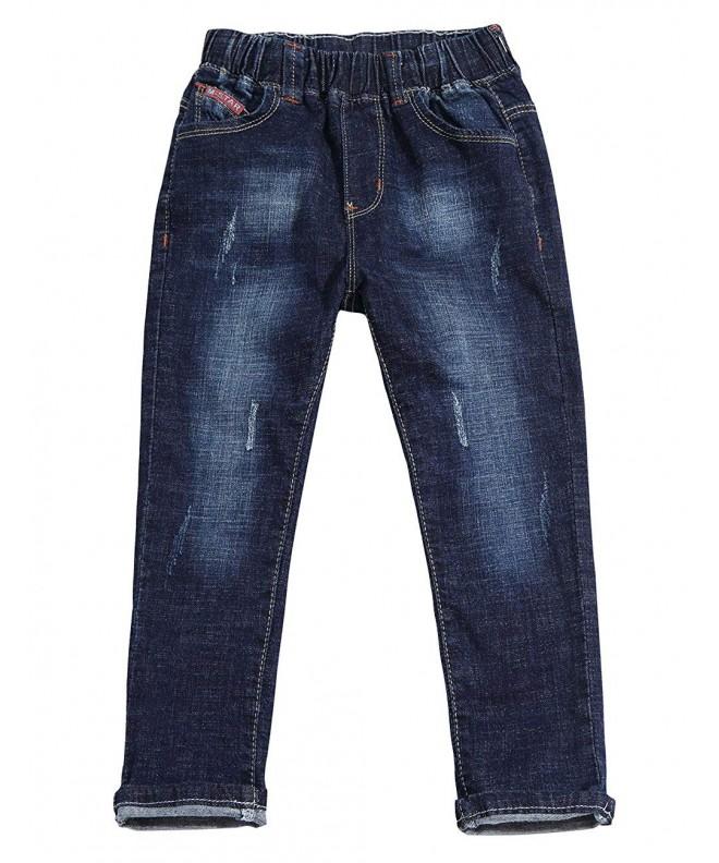 LITTLE GUEST Little Straight Jeans Elastic