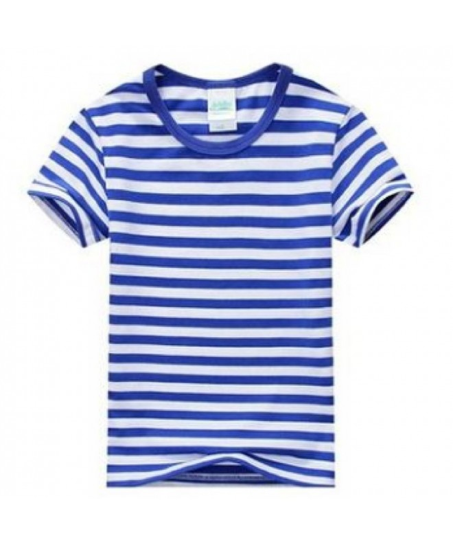 Summer t Shirts Childrens Striped Clothes