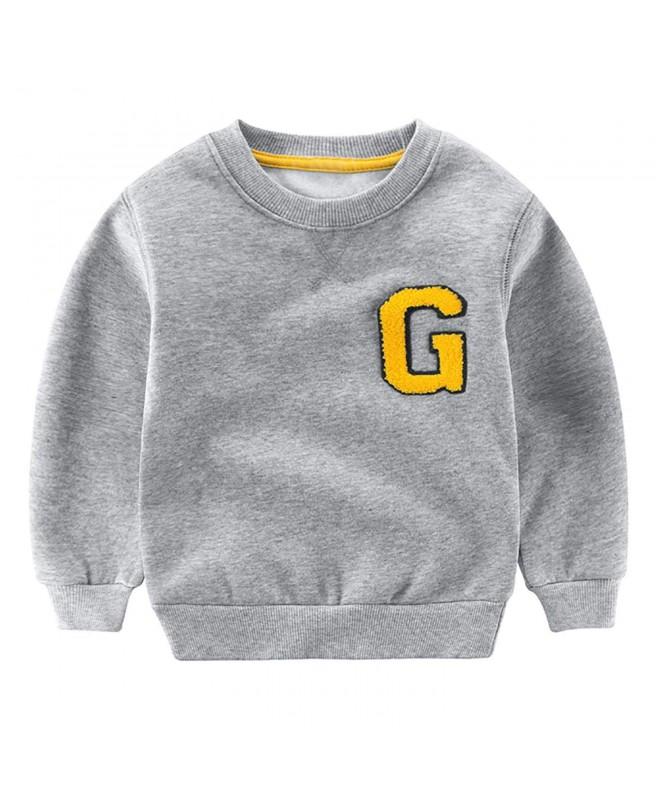 Tecrok Little Crewneck Sweatshirt Pullover