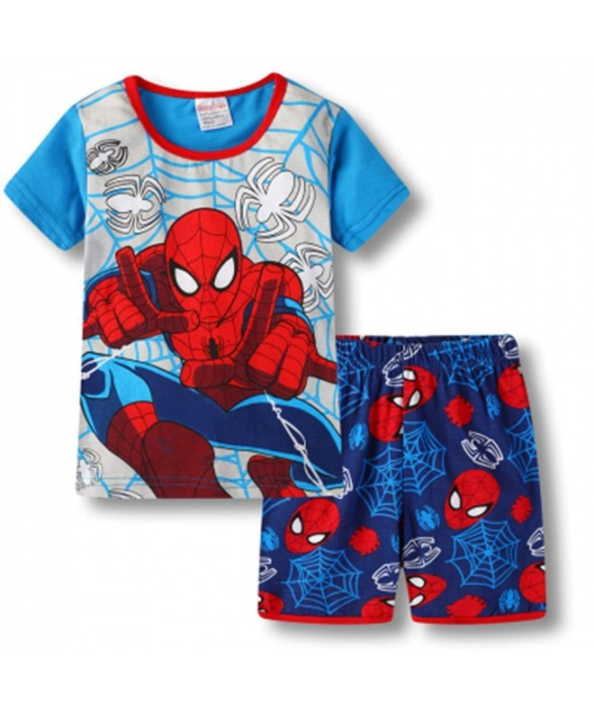 Pajamas Cotton Spiderman Toddler Sleepwear