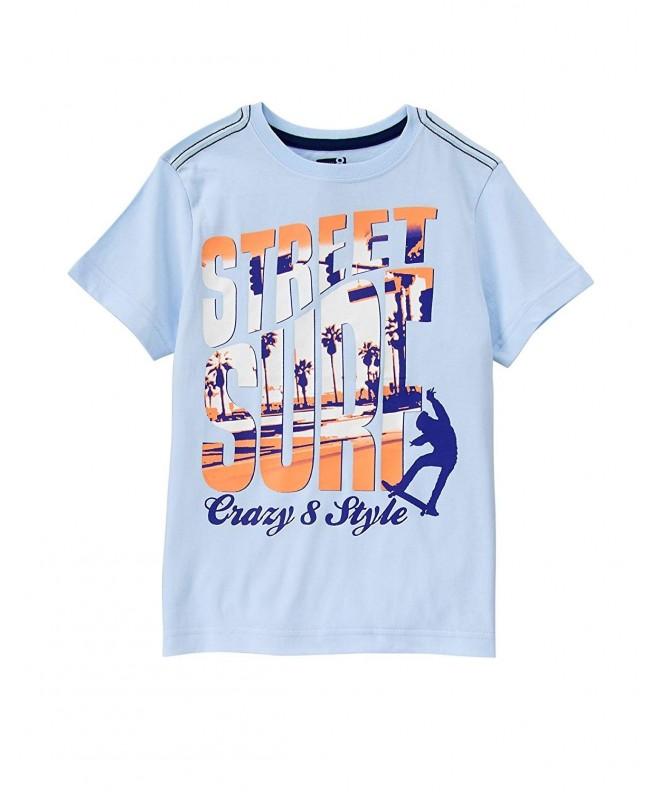 Crazy Boys His Graphic T Shirt