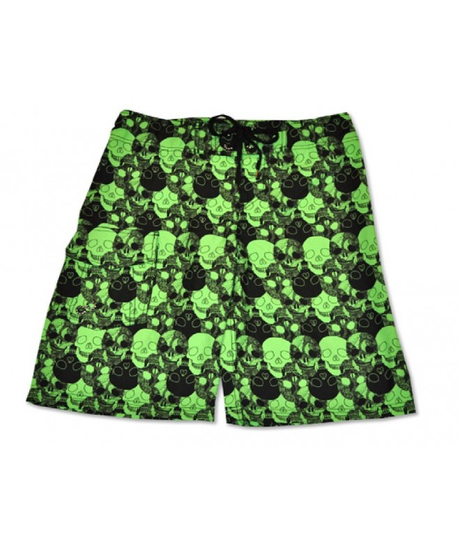 Just Bones Boardwear Skull Shorts