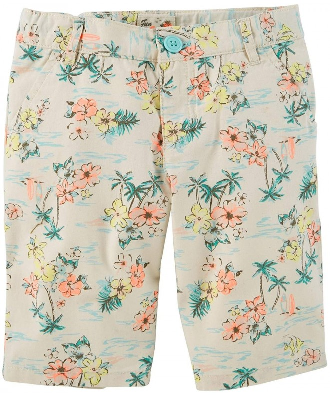 Carters Print Bermuda Shorts Toddler