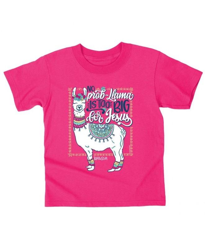 Kerusso Kids Christian T Shirt Llama