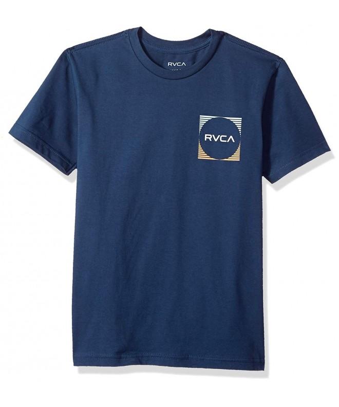 RVCA Motorstripe Short Sleeve T Shirt