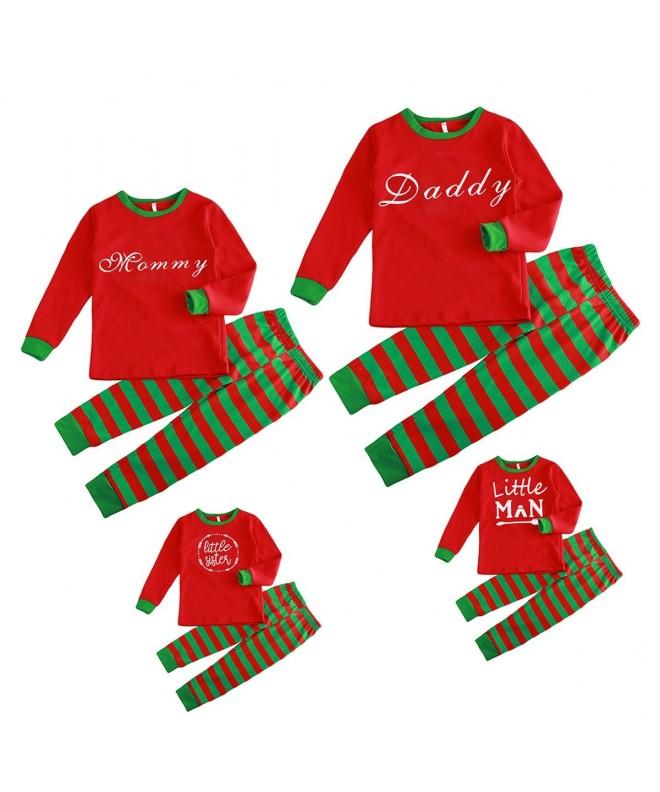 Christmas Family Pajamas Daddy Stripped
