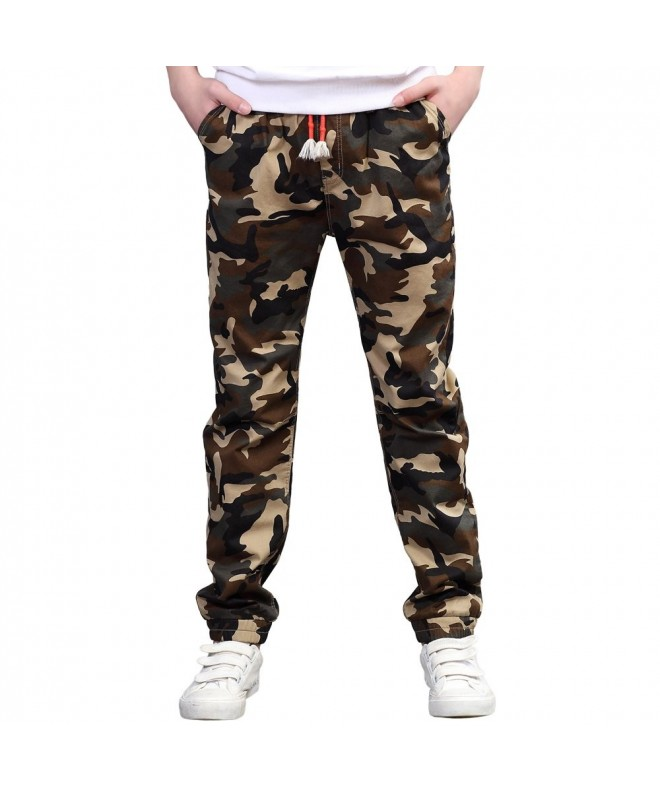 UGREVZ Cotton Teenage Camouflage Clothing