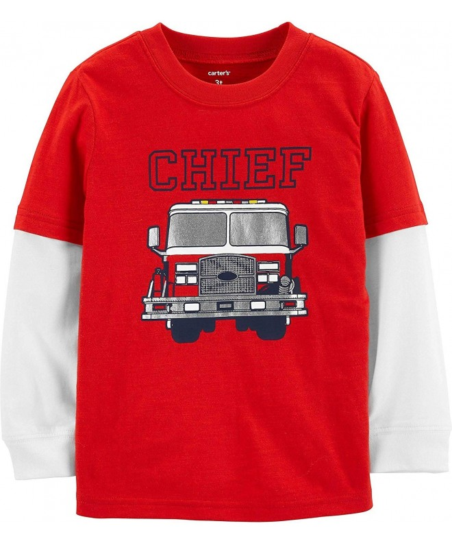 Carters Boys Long Sleeve Graphic Tee