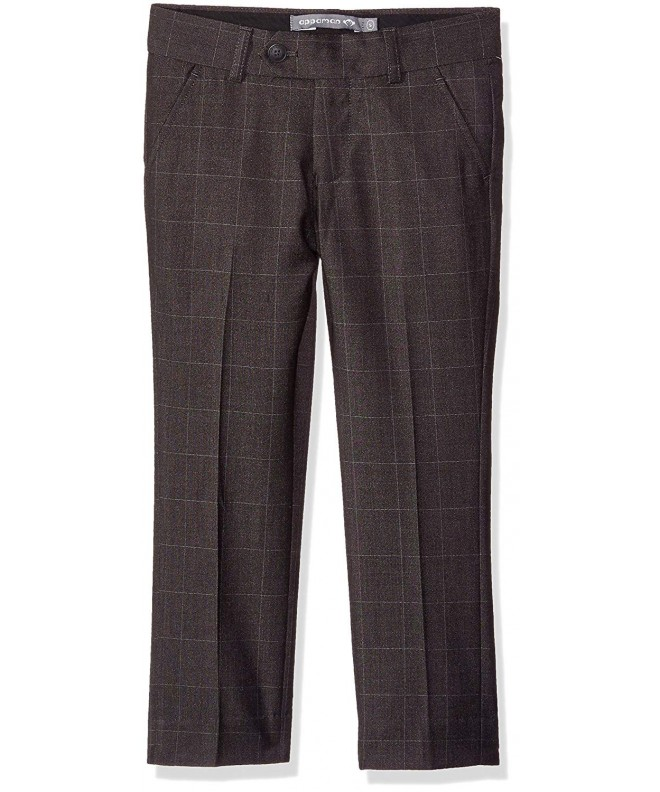 Appaman Boys Charcoal Windowpane Pants