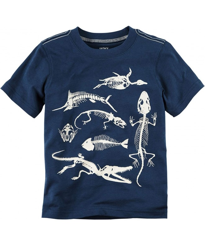 Carters Boys Short Sleeve Reptile