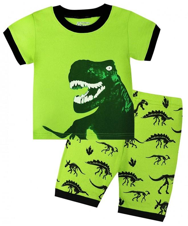 BABES HOME Dinosaur Pajamas Sleepwear