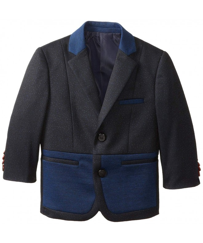 x n y Little Two Tone Color Block Blazer