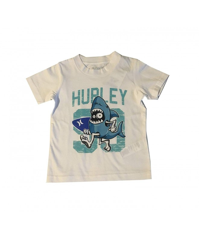 Hurley Toddler Character T Shirt White