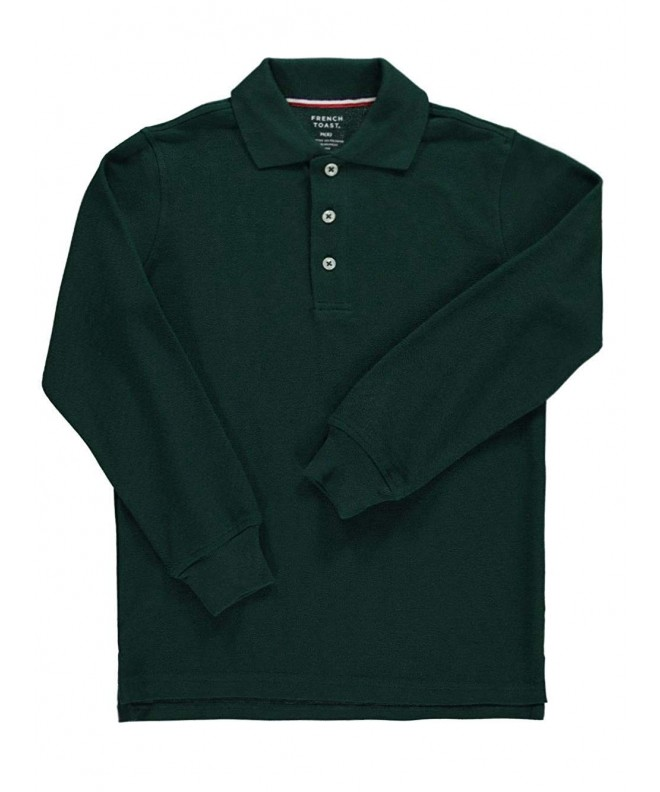 French Toast Sleeve Pique Shirt