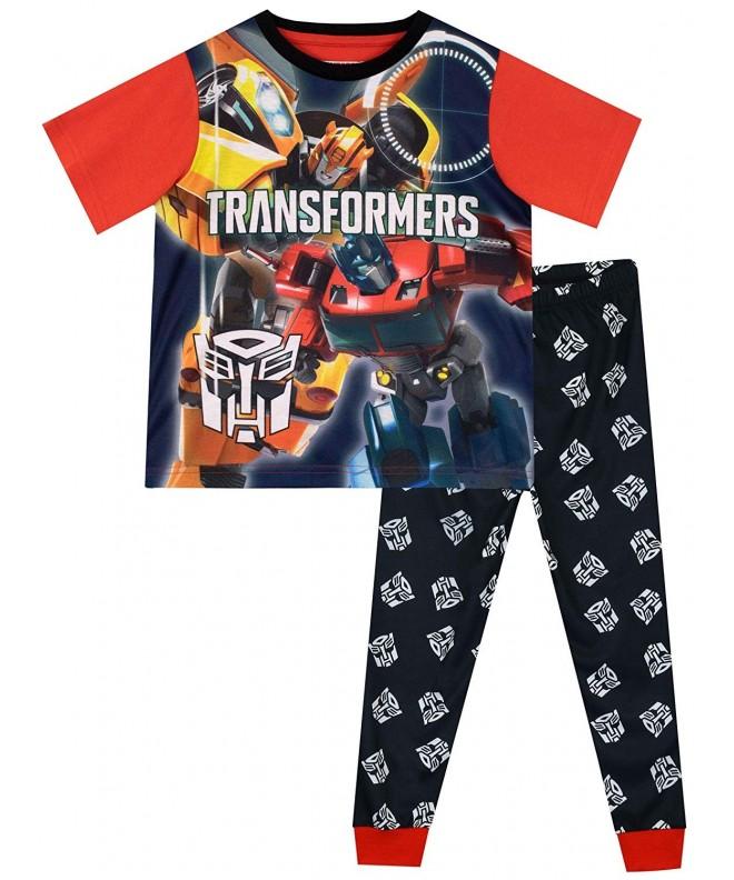 Transformers Bumblebee Optimus Prime Pajamas