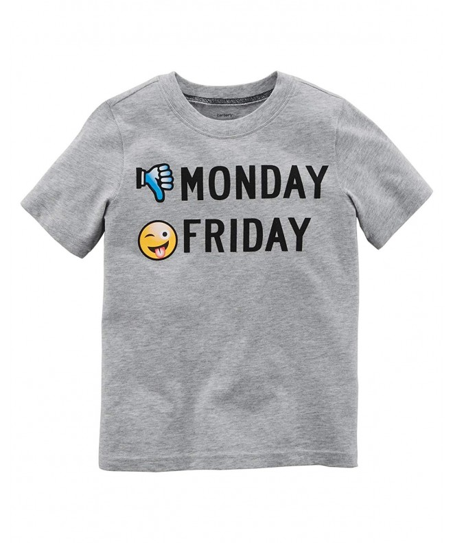 Carters Sleeve Monday Friday Jersey