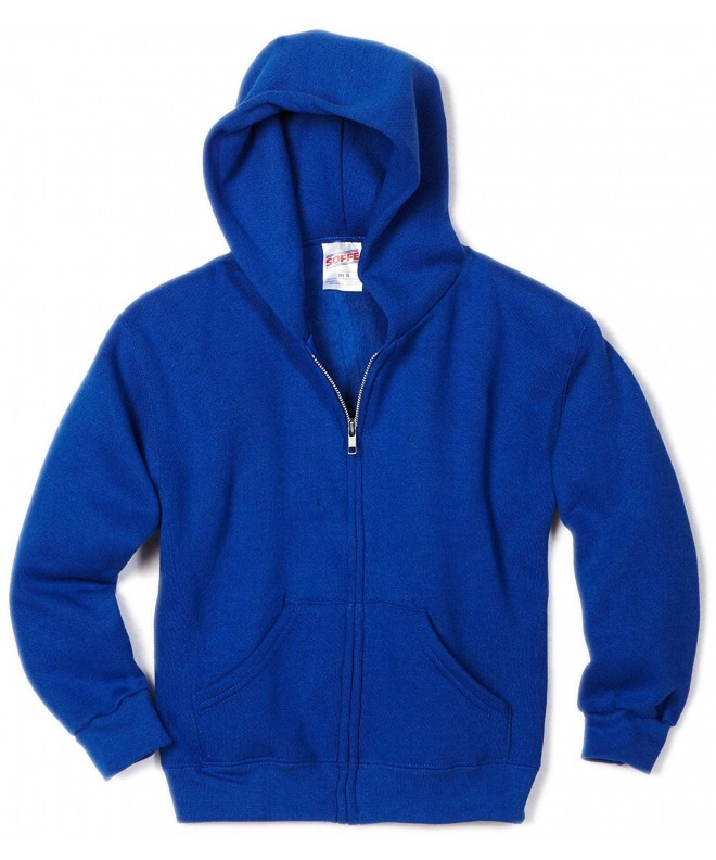 Soffe Hooded Sweatshirt Royal X Large