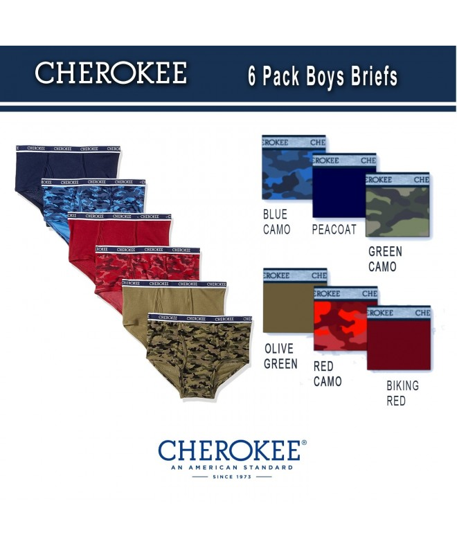 CHEROKEE Little Boys Pack Brief