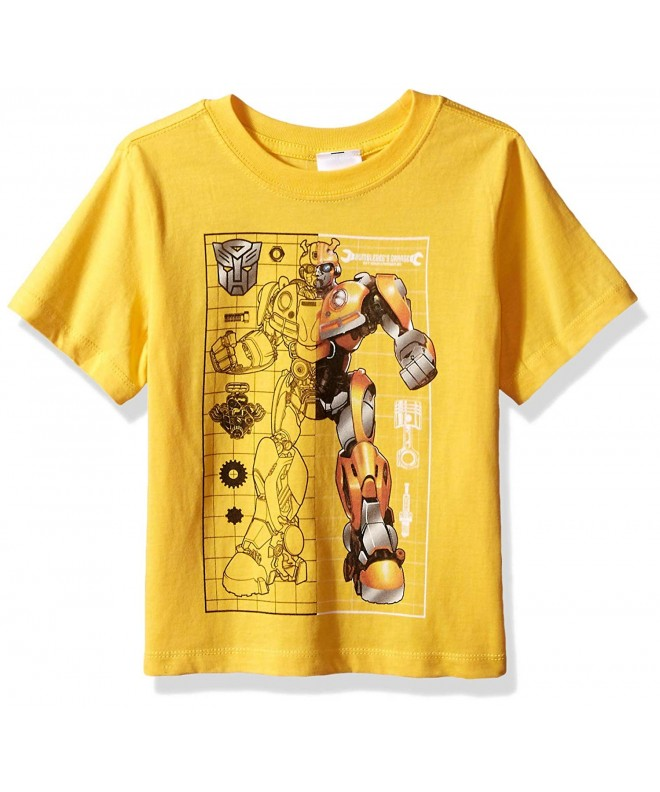 Transformers Bumblebee Movie Print T Shirt