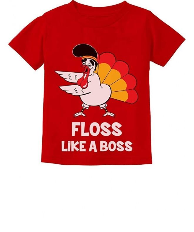 Tstars Turkey Thanksgiving Toddler T Shirt